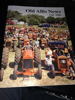Old Allis News  Fall  2000 Allis Chalmers