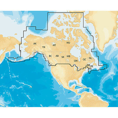 Navionics+ Regions Canada Preloaded Chart Gold and Hotmaps SD/microSD REBATE