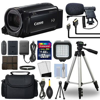 Canon VIXIA HF R700 Full HD Camcorder HFR700 Black 57x Advance Zoom+ 32GB Bundle