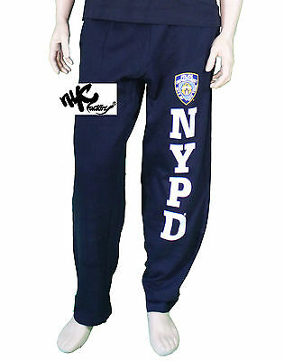 Nypd Police Dept Sweatpants Navy Clothing Apparel Sweat Pants Mens Atheltic Gear