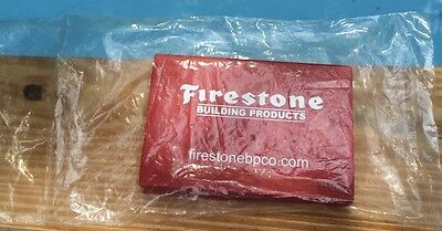 NIP Firestone Building Products Advertising Red Post-It Notes
