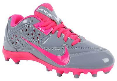Nike Women's SpeedLax 4 Lacrosse Cleats Sz 10 NEW 616300 006 Stealth Pink Flash
