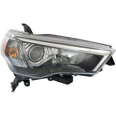New 2014-2017 Fits Toyota 4Runner Head Light  Lens And Housing Rh To2519150