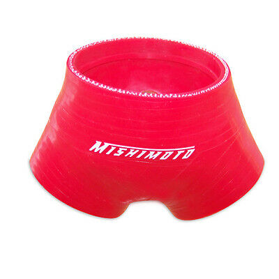 Mishimoto Silicone Throttle Body Hose - fits Audi S4 / S6 B5 2.7 TT - Red