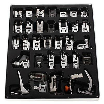 Useful Sewing Machine Foot Feet Presser Kit Set For Brother Janome Singer 32PCS