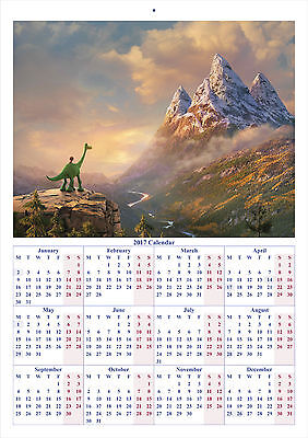 The Good Dinosaur V2 - 2017 A4 CALENDAR **BUY ANY 1 AND GET 1 FREE OFFER**
