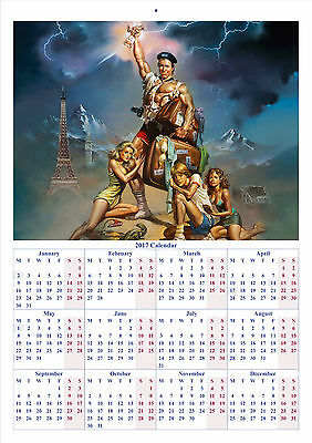 National Lampoon's European Vacation - 2017 A4 CALENDAR BUY ANY 1 AND GET 1 FREE