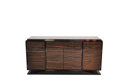 Wonderful Art Deco Makassar-Sideboard