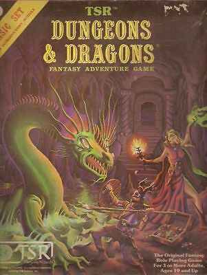 Dungeons & Dragons, from TSR Fantasy Adventure Game, Basic Set