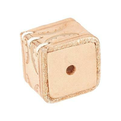 PU leather Billiard Pool snooker table Cue Chalk Holder Natural wood color New