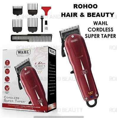 WAHL SUPER TAPER PROFESSIONAL MAINS CORDLESS CLIPPER  Model: 8591-831
