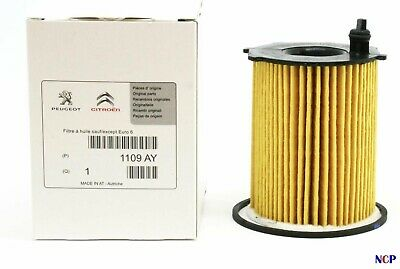 Genuine Peugeot Citroen Fits Most 1.6 Hdi 1.4 Hdi Oil Filter 1109Ay Multi Fitmen