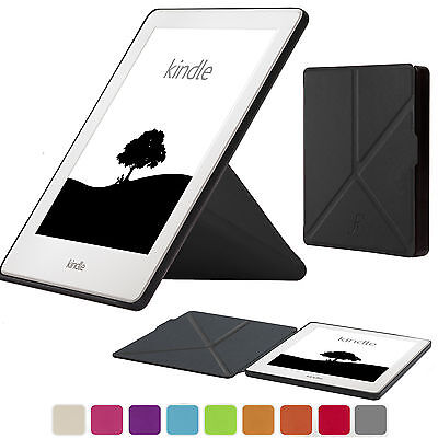 Forefront Cases® Smart Origami Case Cover Wallet for Amazon Kindle 2016 8th Gen