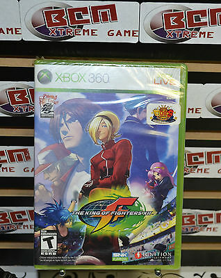 The King of Fighters XII (Microsoft Xbox 360, 2009) New Sealed