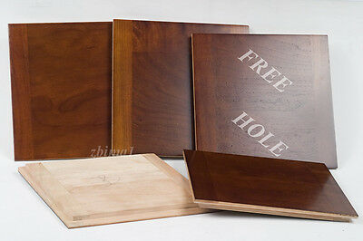"""1 Wooden Lensboard 6 x6""""  for  KORONA WIDE ANGLE 8x10"""",  undrilled, or free hole"""