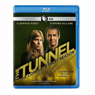 The Tunnel: British / French Series Complete Season 1 Box / Blu-Ray Set NEW!