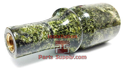 Green Marble Draft Beer Faucet Knob Tower Tap Handle Lever Bar Pub Home Keg Part