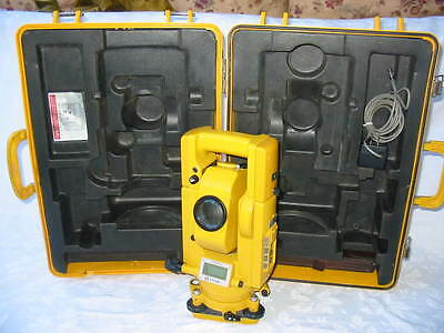 """Topcon Gts-3B 2"""" Total Station, Surveying One Month Warranty"""