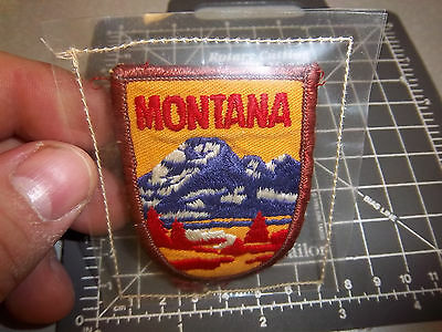 Montana voyager series Embroidered Patch, nice collectible