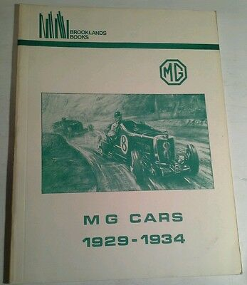 Brooklands Books Mg Cars 1929-34
