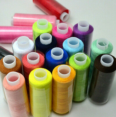 Mixed Colors Polyester 24/Lot 2016 Quilting Sewing Thread Spool Machine Hand