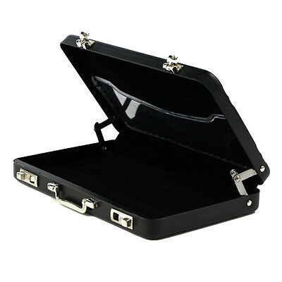 Aluminum Mini Briefcase Suitcase Business Bank Card Name Card Holder Case Box