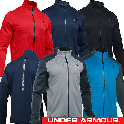 Under Armour 2017 Men's UA Golf Storm 3 Waterproof Full Zip Rain Jacket -1281281
