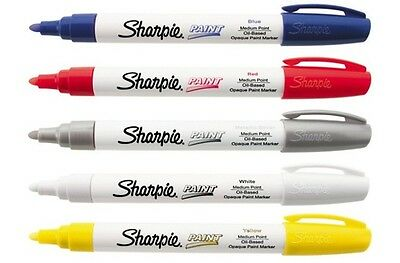 Sharpie 35563 Oil-Based Paint Marker Aqua Blue 1 Count Medium Point