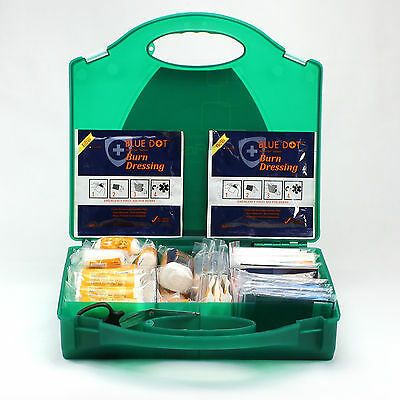 BS8599-1 Compliant Workplace First Aid Kit with Compartments. BS8599 Box. LARGE.