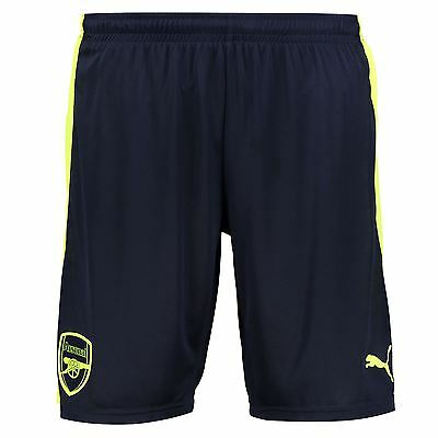 Arsenal Puma Mens Gents Football Soccer Third Kit Shorts Bottoms Pants 2016-17
