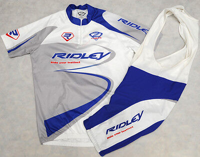RIDLEY - 4ZA - genuine HIGH QUALITY cycling KIT - JERSEY & BIB SHORTS - size 5