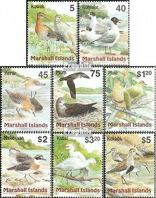 Marshall-Islands 1230-1237 (complete.issue.) fine used / cancelled 1999 Birds