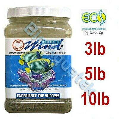 EcoSystem Miracle Mud Marine Aquarium Reef Refugium Filter Media Substrate