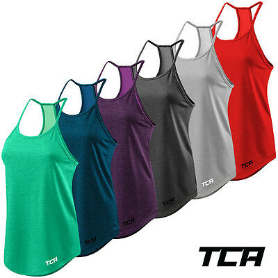 Women's TCA Switch-Up Reversible Lightweight Workout Tank Sleeveless Vest Top