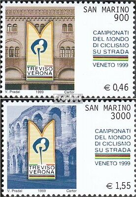 San Marino 1834-1835 (complete.issue.) unmounted mint / never hinged 1999 Straße