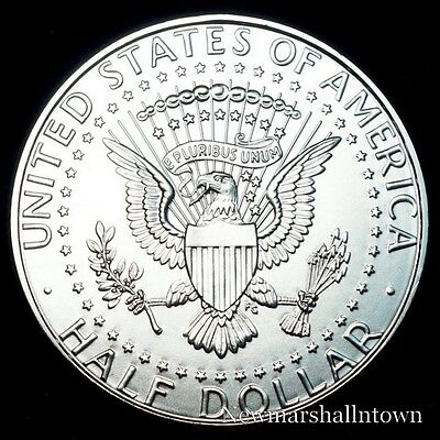 1973 D Kennedy Half Dollar ~ U.S. Coin from Bank Roll