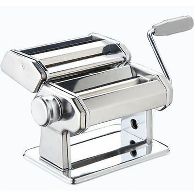 3 in 1 Pasta Maker Machine Cutter Lasagne Spaghetti Tagliatelle Stainless Steel