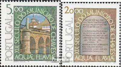 Portugal 1405-1406 (complete.issue.) fine used / cancelled 1978 City chaves