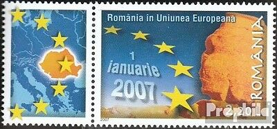 Romania 6157 with zierfeld (complete.issue.) unmounted mint / never hinged 2007