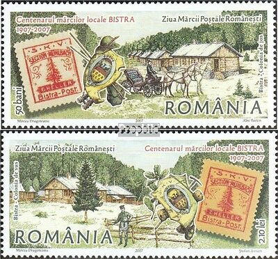 Romania 6220-6221 (complete.issue.) unmounted mint / never hinged 2007 Day the S