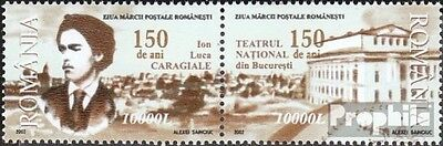 Romania 5670-5671 Couple (complete.issue.) unmounted mint / never hinged 2002 Io