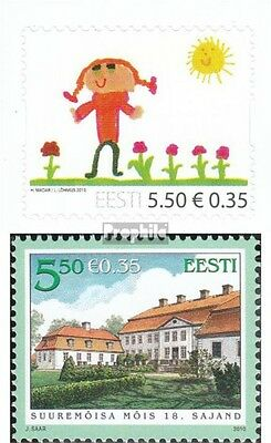Estonia 667,669 (complete.issue.) unmounted mint / never hinged 2010 Children, m
