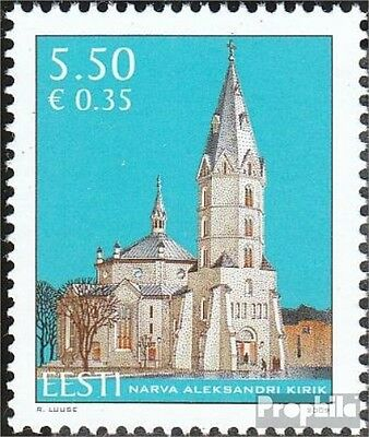 Estonia 642 (complete.issue.) unmounted mint / never hinged 2009 Church Narva