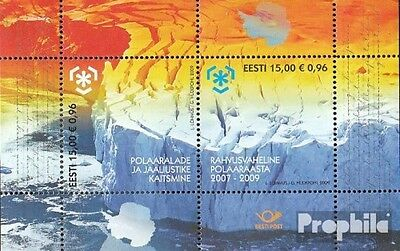 Estonia block32 (complete.issue.) unmounted mint / never hinged 2009 Polargebiet
