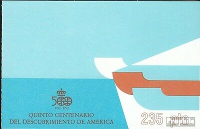 Spain MH5 (complete.issue.) fine used / cancelled 1987 Discovery America