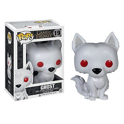 Funko Pop TV Game Of Thrones Ghost Vinyl Action Figure Collectible Toy, 3.75""