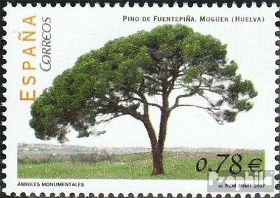 Spain 4207 (complete.issue.) unmounted mint / never hinged 2007 Trees