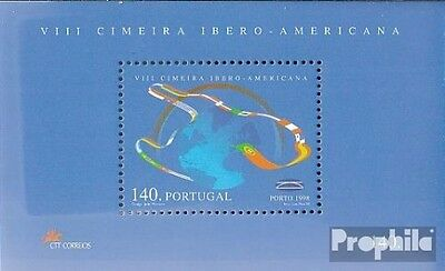 Portugal block143 (complete.issue.) unmounted mint / never hinged 1998 summit co
