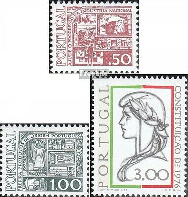 Portugal 1309-1310,1339 (complete.issue.) unmounted mint / never hinged 1976 pro