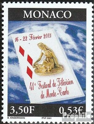 Monaco 2547 (complete.issue.) unmounted mint / never hinged 2001 Fernsehfestival